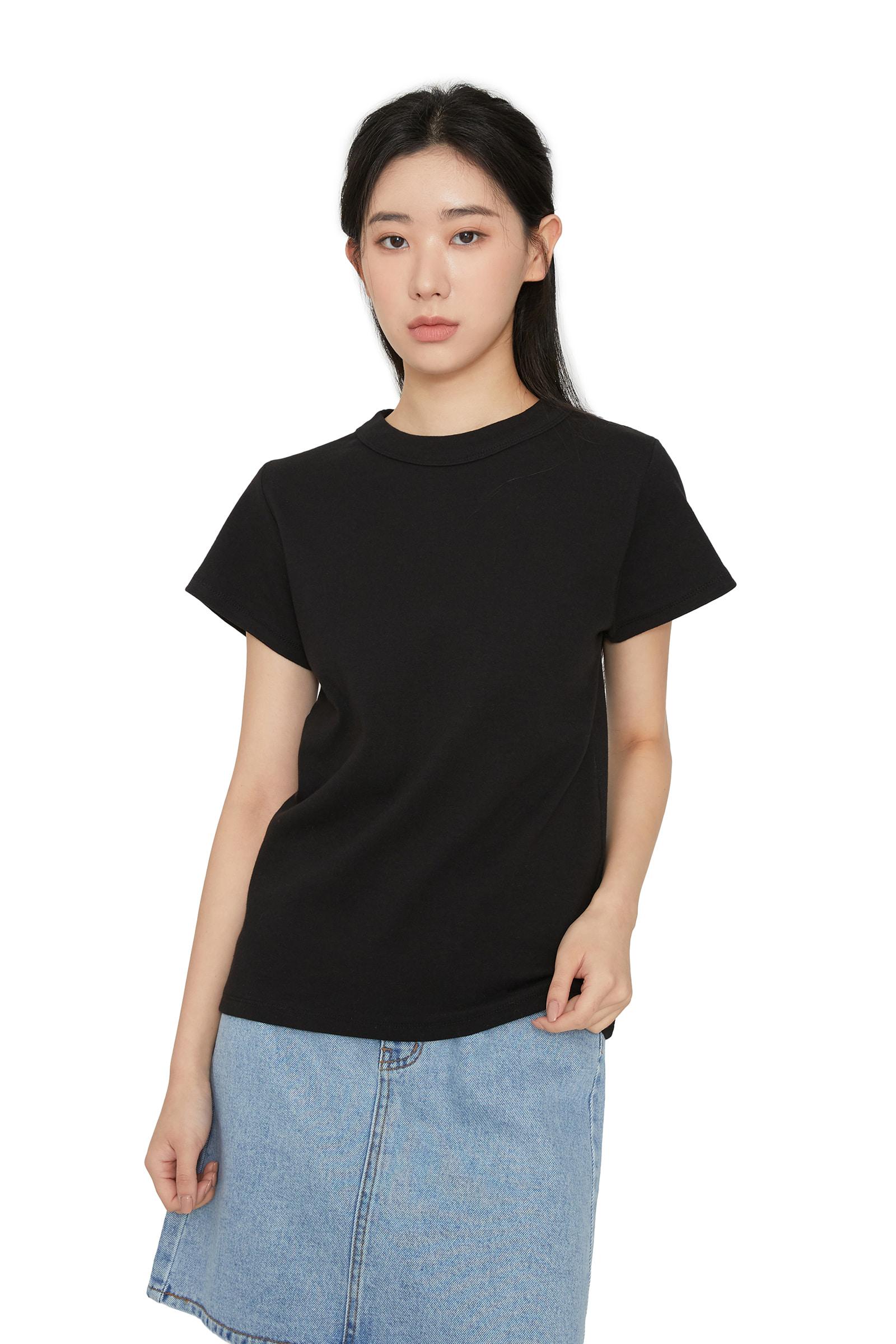 Yogurt crew neck short sleeve T-shirt