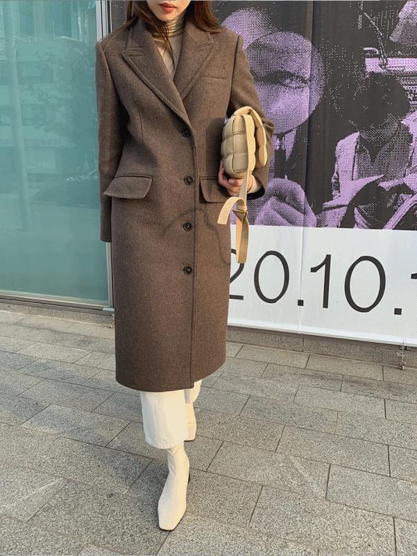 Two-way Wool Coat