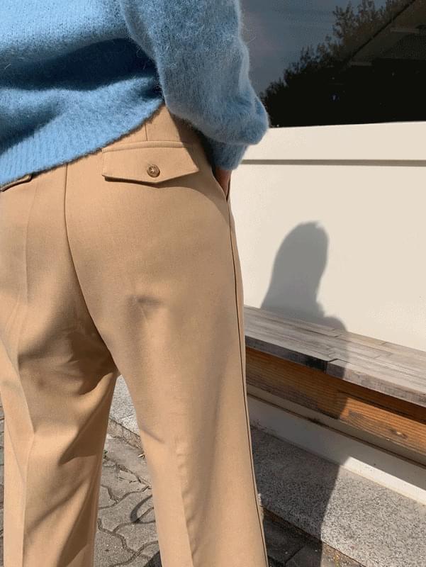 Wool Pocket Slacks