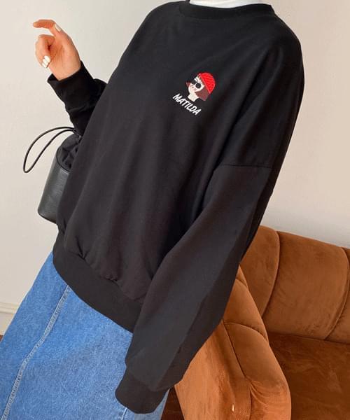 Matilda embroidered sweatshirt