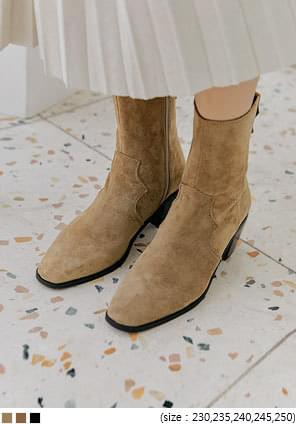 JET WESTERN ANKLE BOOTS - 2 TYPE