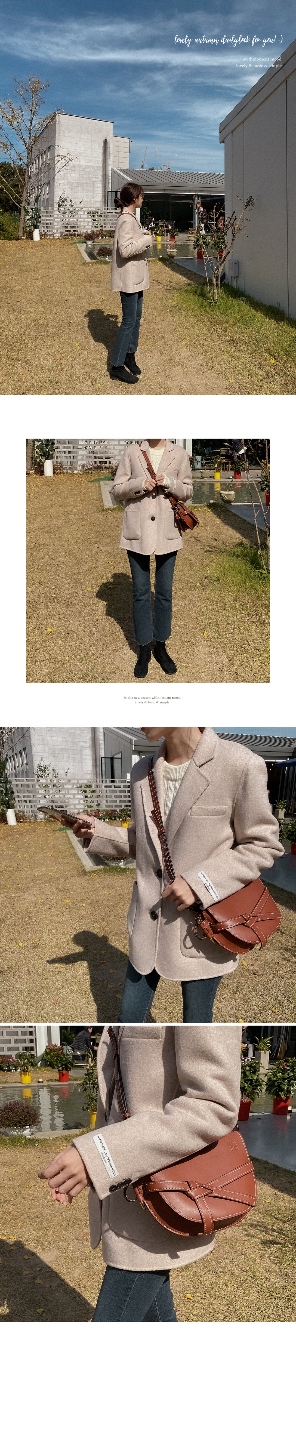 Milky Cable Wool Knit-3color
