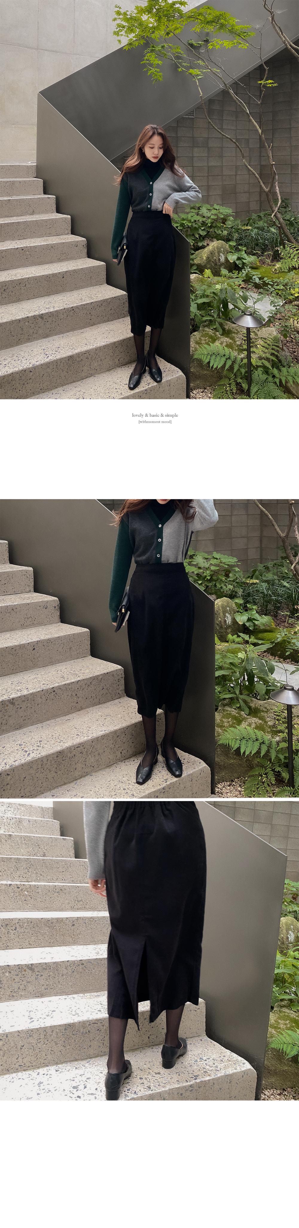 Jane Wool H Skirt-3color