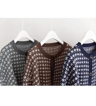 Clover Button Cardigan #22136 開襟衫