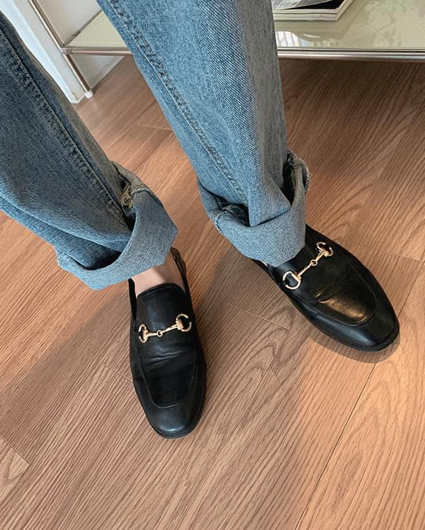 Moel straight denim trousers