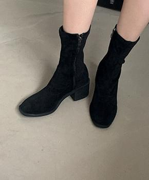 Popple leather ankle boots