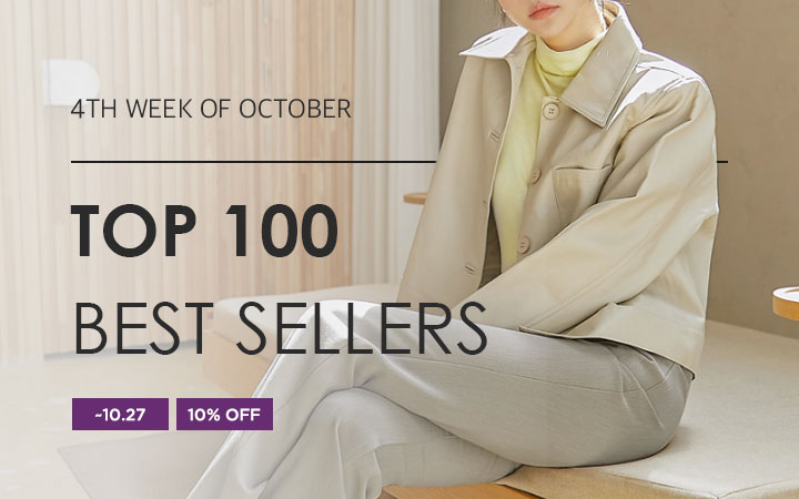 BEST SELLER - 4TH WEEK OF OCTOBER