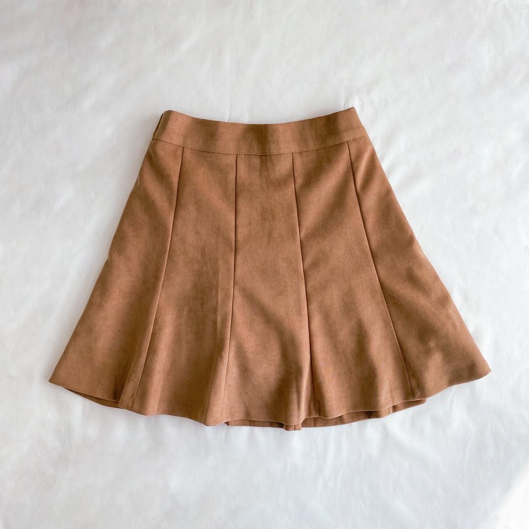 Winnie flared mini skirt