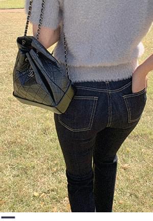 Jincheong semi-boot cut pants of always attractive charm