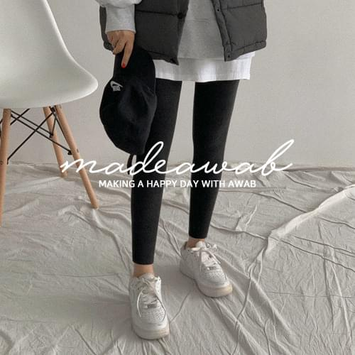 #AWABMADE:_Spanmuji Basic Leggings (Delayed delivery)
