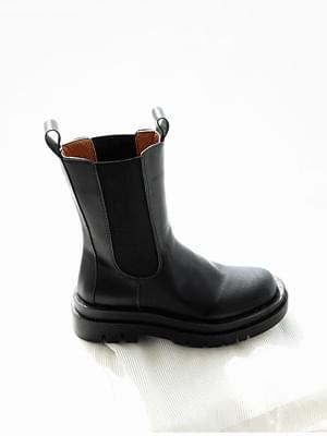 Entilan Chelsea middle boots 5cm