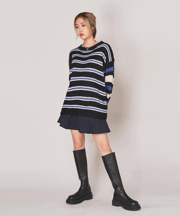 Wool Boxy Fit Dangara Knit