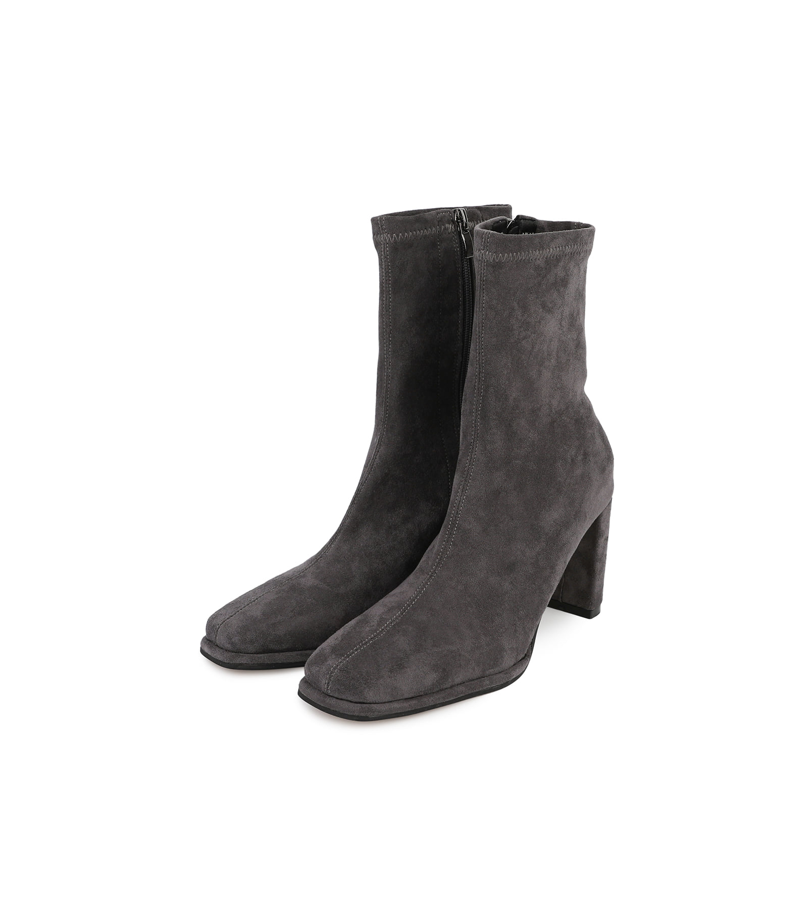 Penner suede high-heel ankle boots