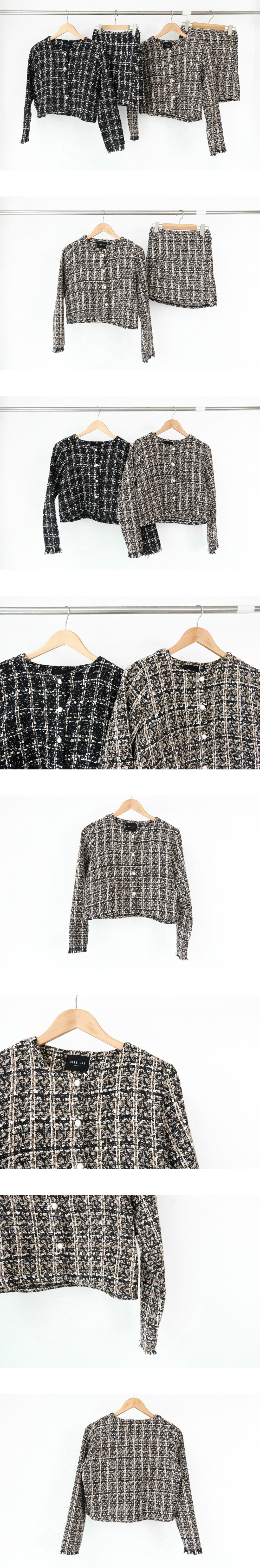 C-sha tweed blouse jacket