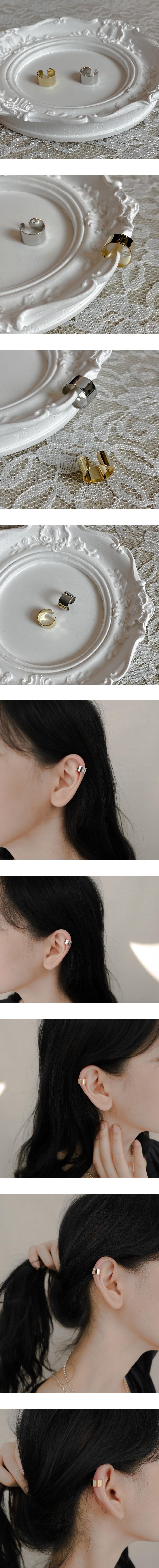 Plate earcuffs
