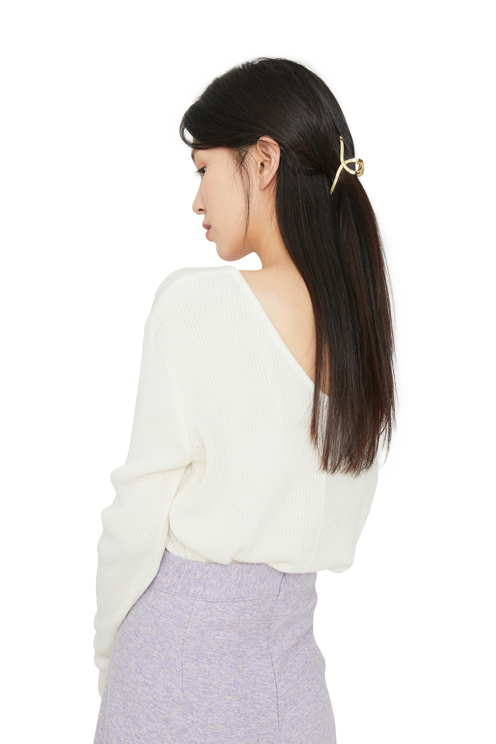 Gold euphoria hairpin