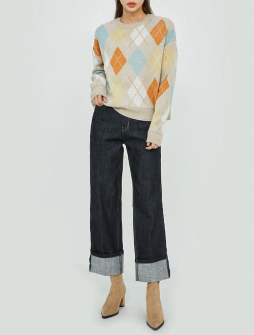 Ansley Argyle Knit knitwears