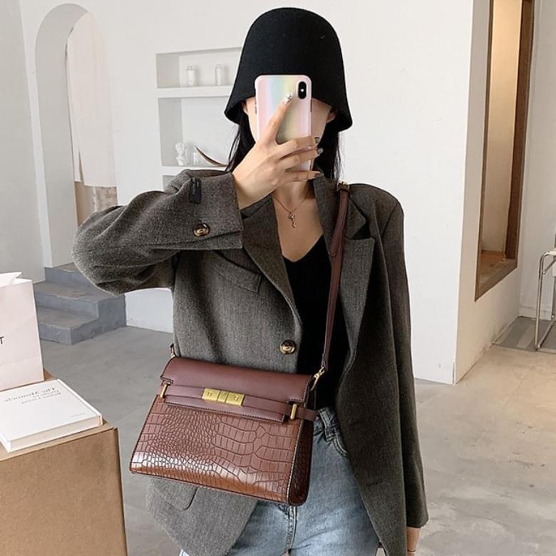 Urban Bros crocker combination leather bag