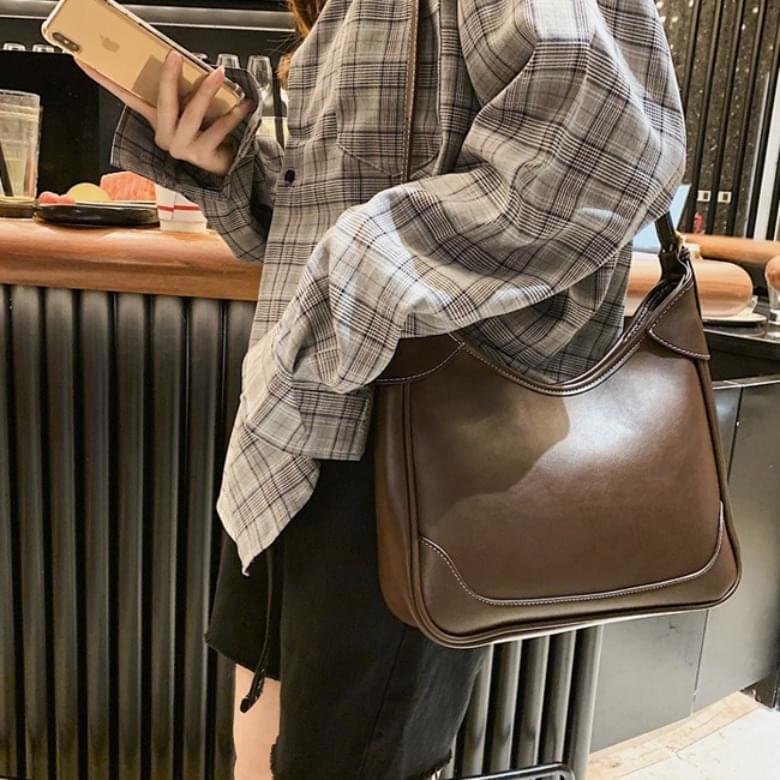 Urban Bros Beams Classic Shoulder Leather Bag