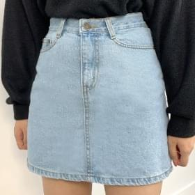 Denim daily skirt