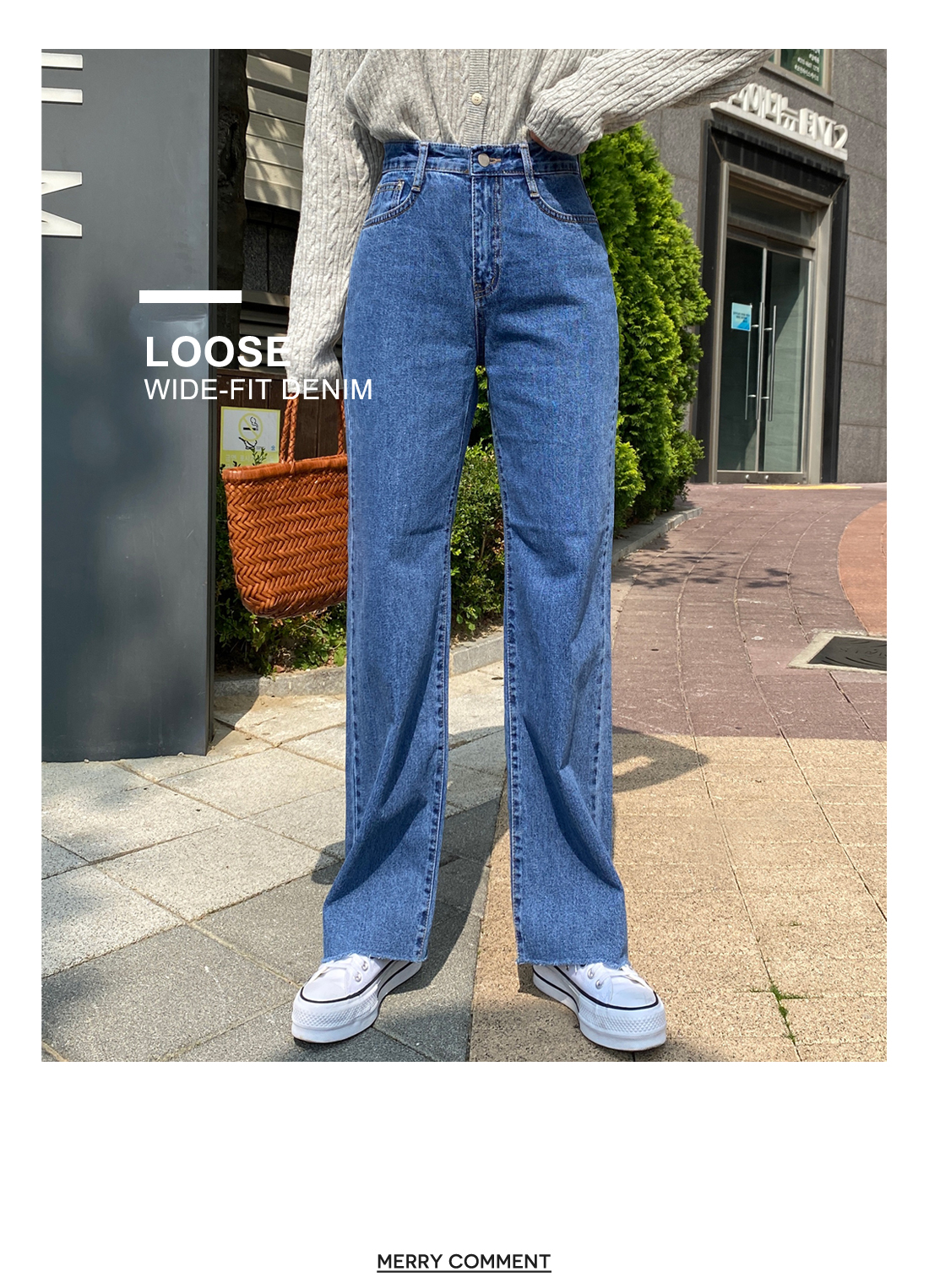 Jazz Nonspan Wide Jeans
