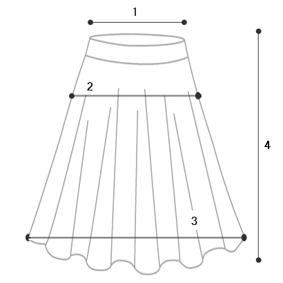 Prom Skirt-5color