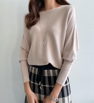 Feminine Lip Neck Knit #108519 針織衫