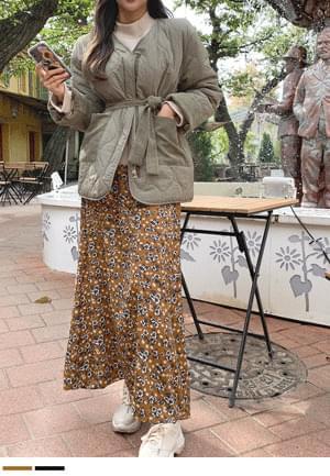Flower Maxis Skirt