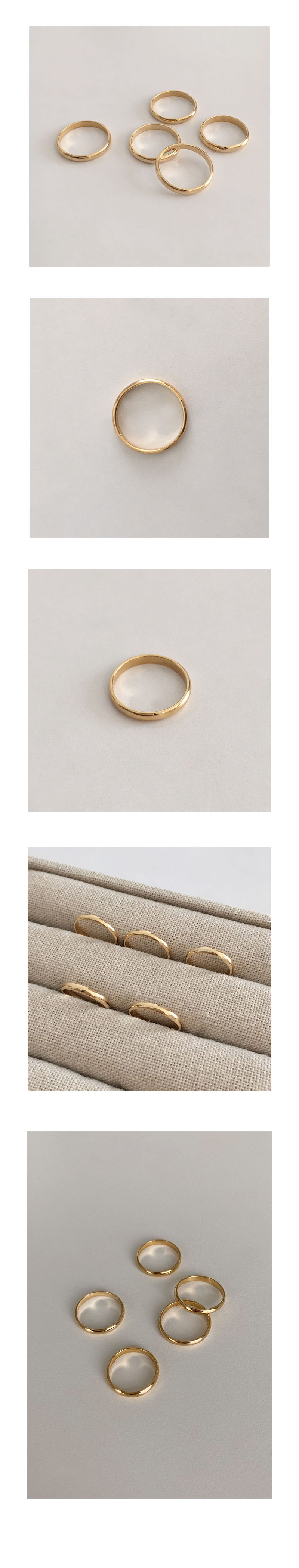 gold engage ring