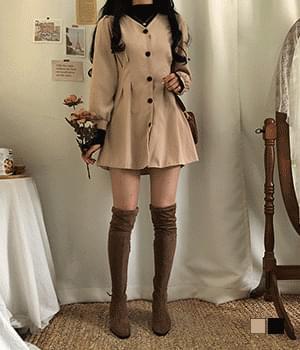 Miele dart mini dress 洋裝