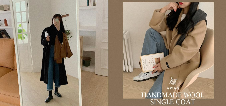 #MADEAWAB:_ A handmade coat for you #1 -wool 80%