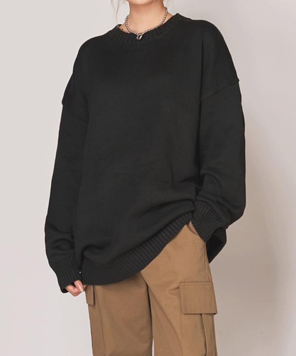 Kono Boxy Fit Plain Knit