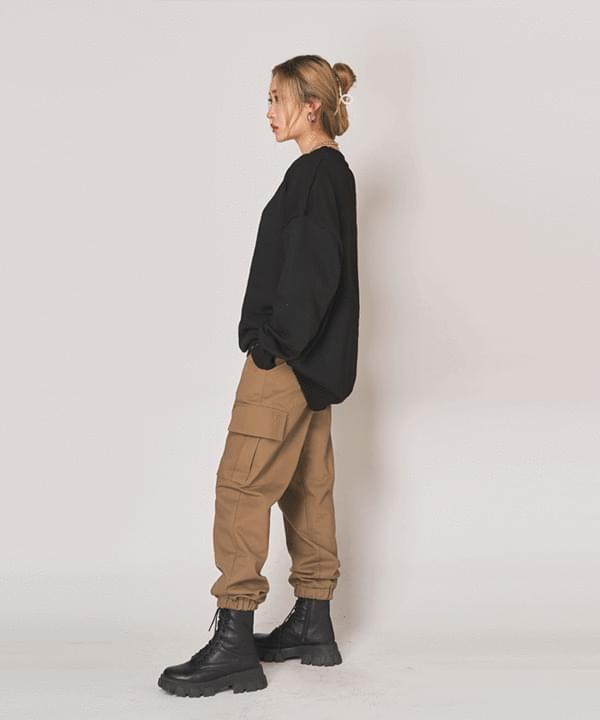Store cargo jogger trousers