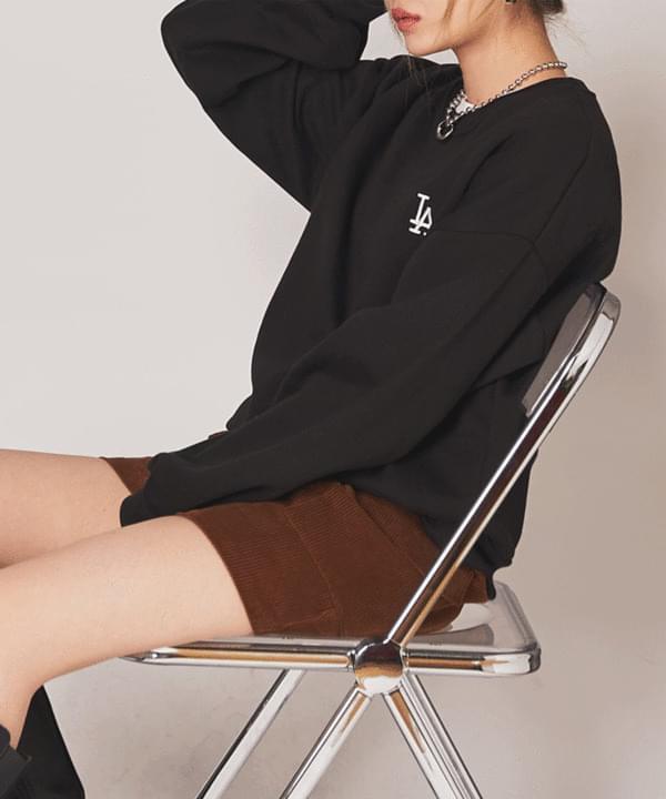 Lettering Rouge Raised Sweatshirt