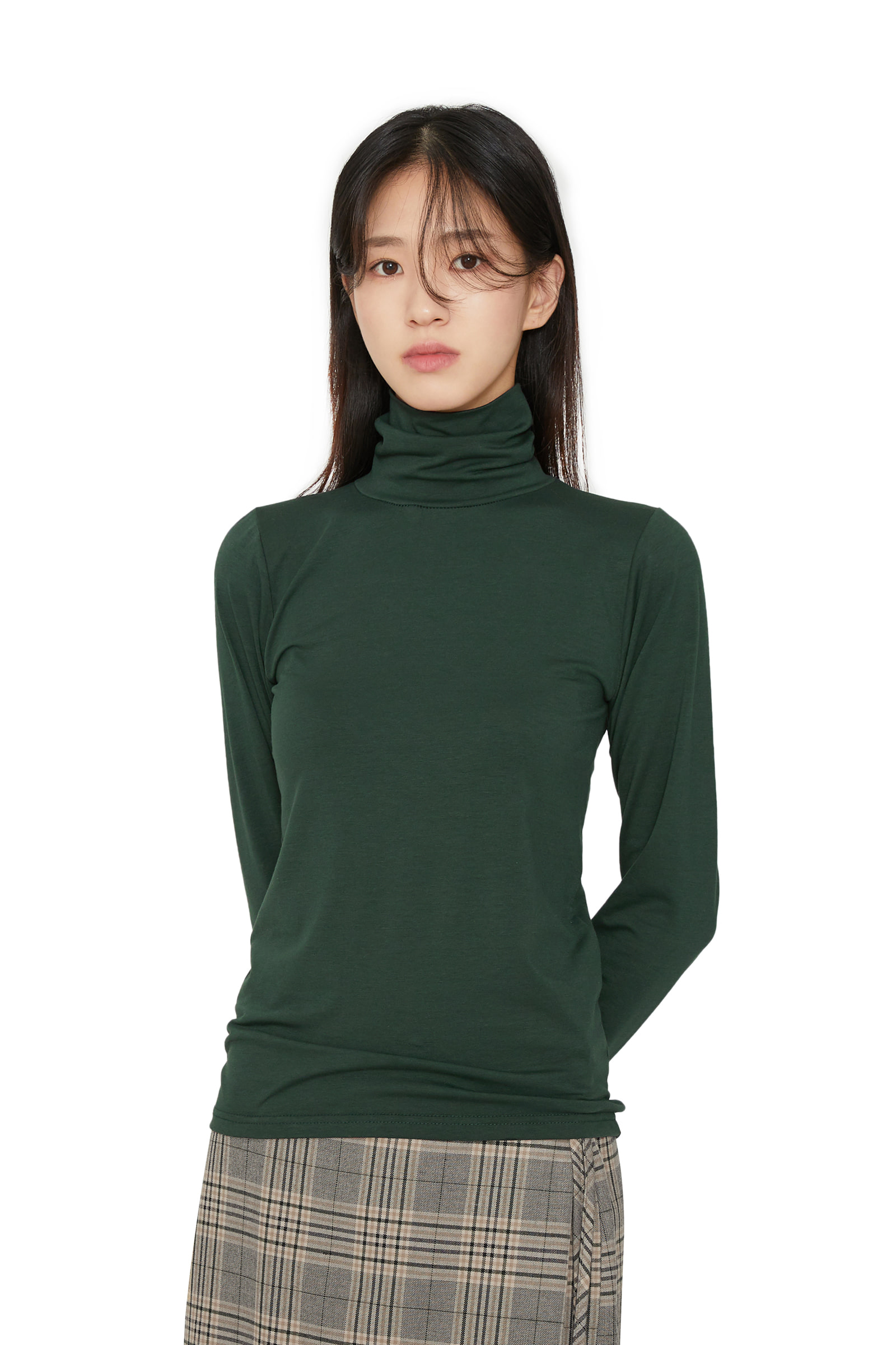 Wale daily turtleneck top