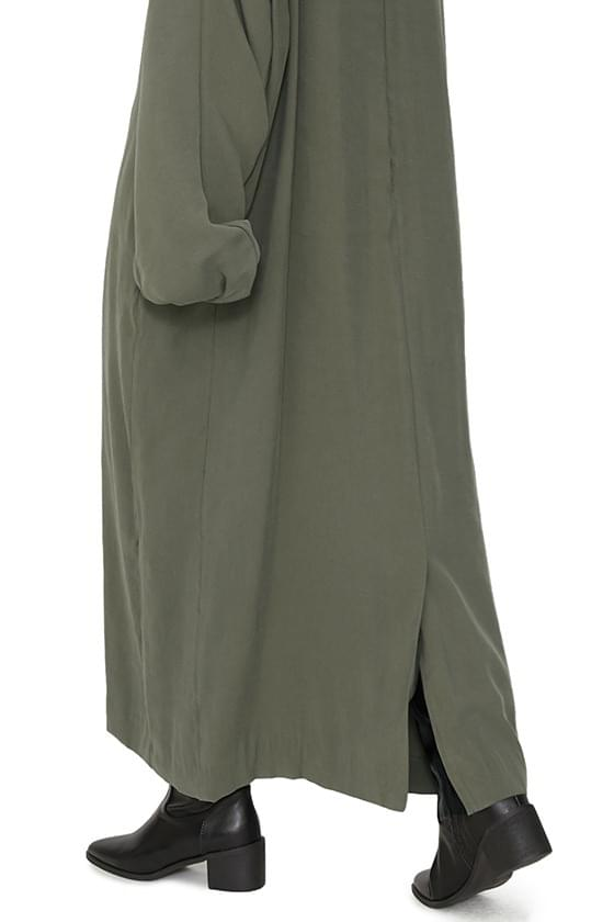 Olivy overfit maxi dress 洋裝