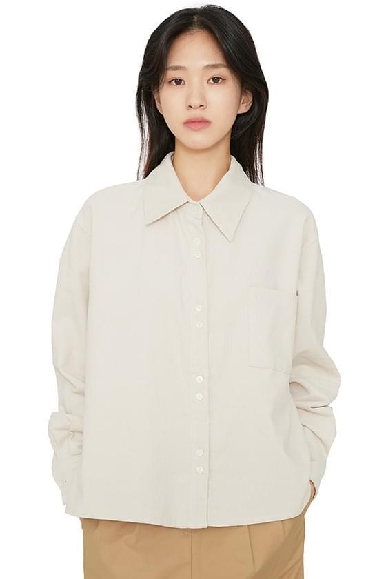 Hergolden cropped shirt 襯衫