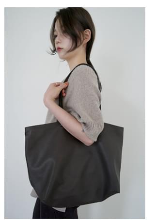 standard fake leather big bag
