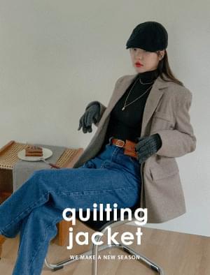 Hazel Hound Check Qualifying Jacket