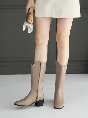 Clean Fit Long Boots 5cm