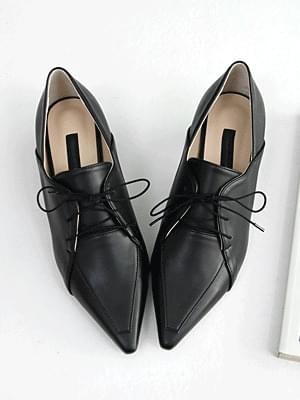 Aditz lace-up loafers 4cm