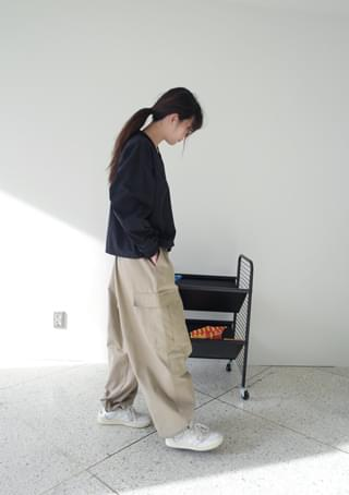 wide and bold jogger pants
