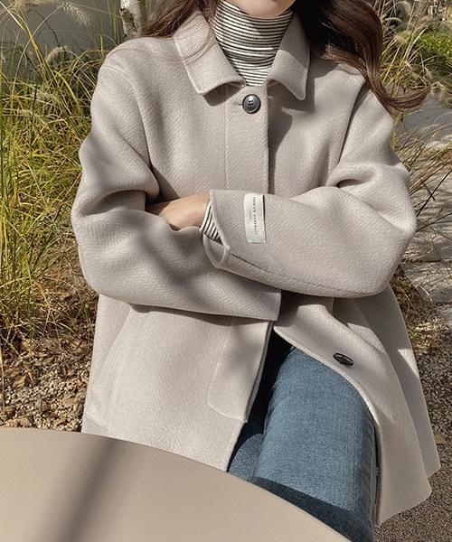 Hidden Handmade Half Jacket-Wool 90