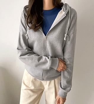 All Day Hooded Zip-Up Jumper #65859 zip-up