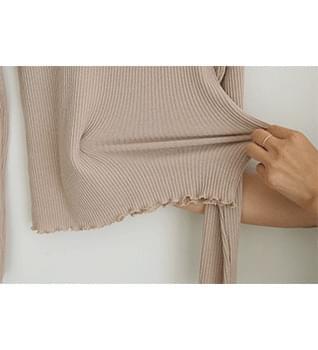 Slim Ribbed Polar Knit #108524 針織衫