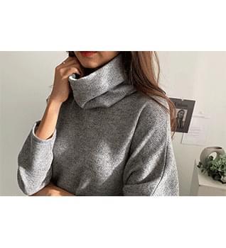 Wide Turtleneck Overfit Knit #108530 針織衫