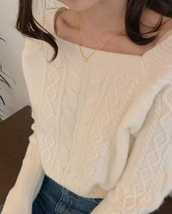 Frin mini heart necklace