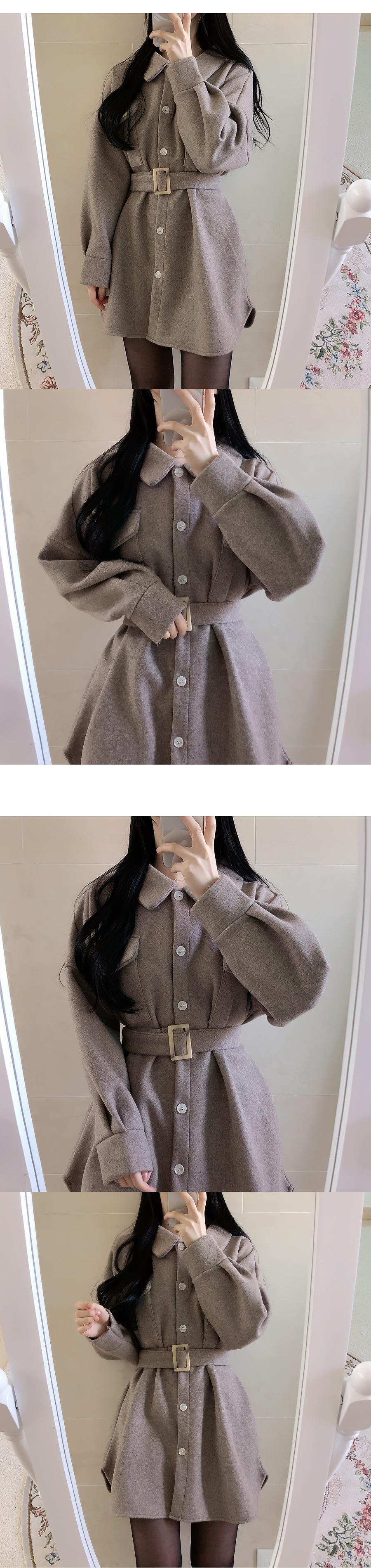 Belt set ♥ Eden Thicker Shirt Dress