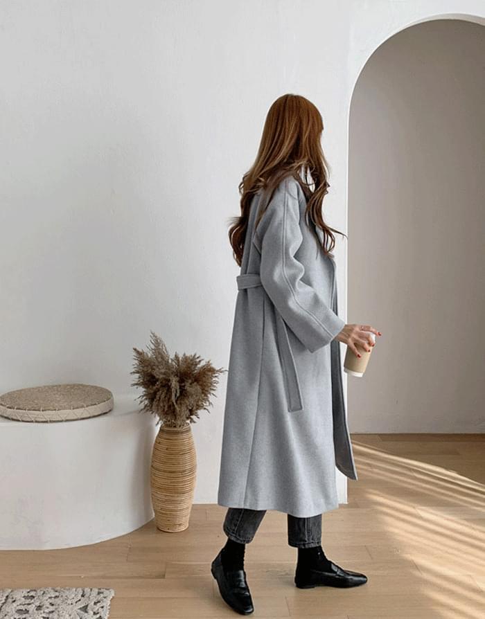 One&Lob Belt Long Coat