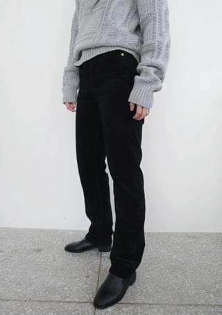 slim bold corduroy pants